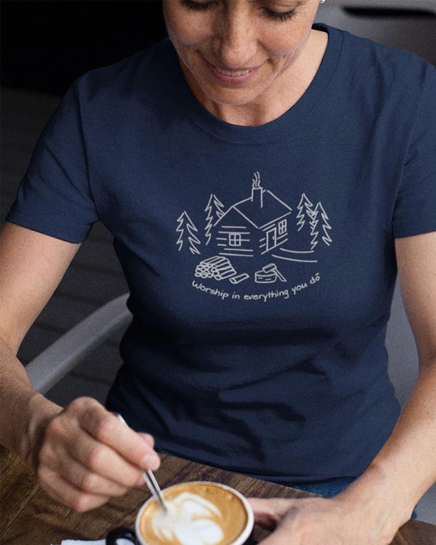 Cabin Firewood Shirt