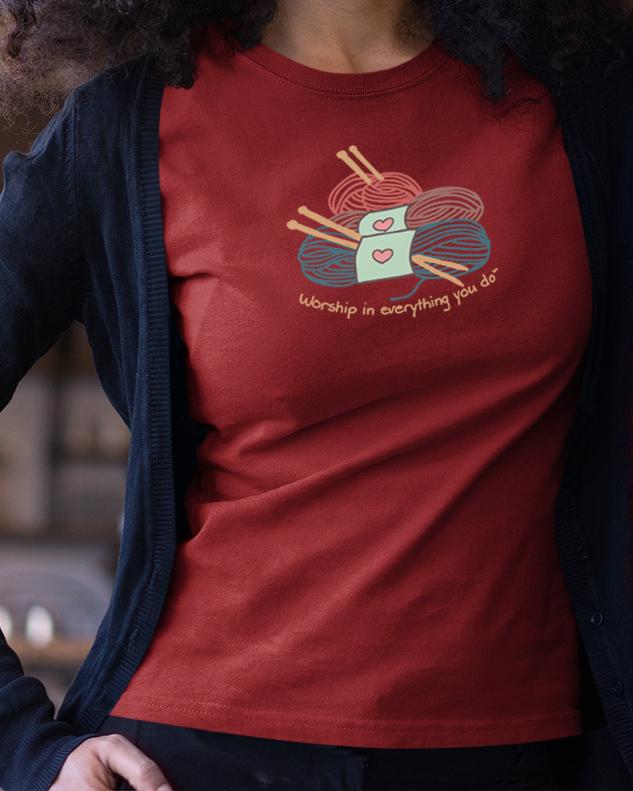 Knitting Shirt
