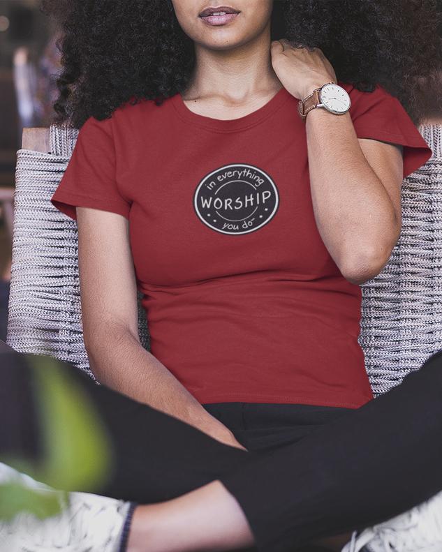Worship Logo Shirt