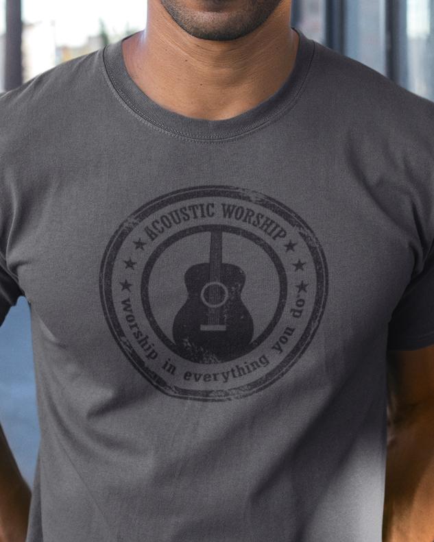 Vintage Guitar Tee Shirt