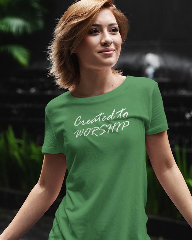Created To Worship Tee Shirt