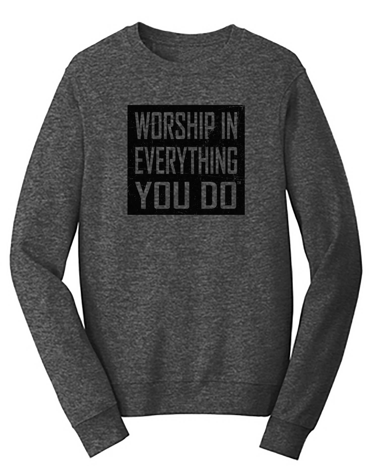 Worship Logo Sweatshirt