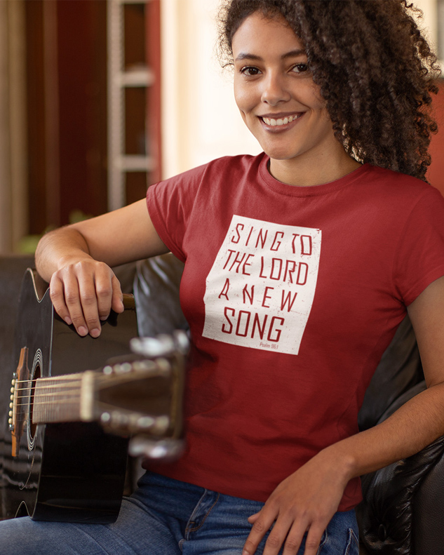 Sing To The Lord A New Song Tee Shirt