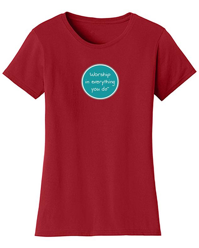 Joyful Worship Logo Shirt