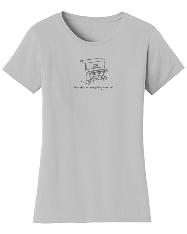 Piano Acoustic Worship Shirt